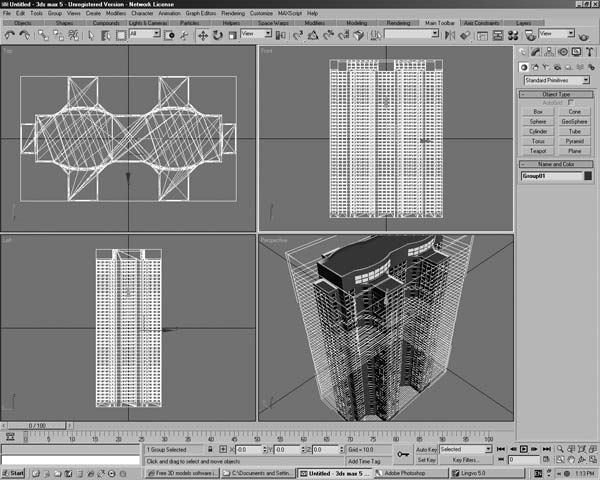 Free 3d residential buildings joy studio design gallery for 3d construction design software