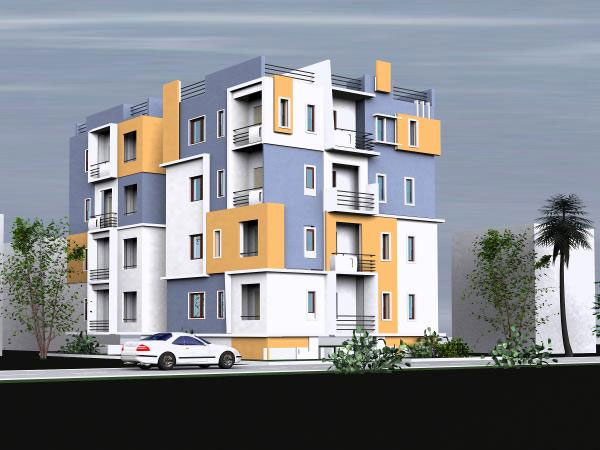Apartment dwelling house decoration max 3ds max for Model apartments